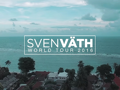 SVEN VÄTH WORLD TOUR 2016 PART 2
