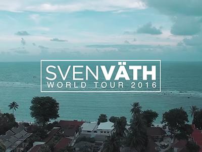 SVEN VÄTH WORLD TOUR 2016 PART 2