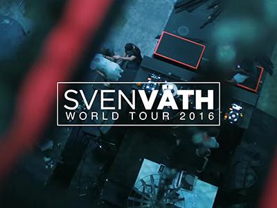 SVEN VÄTH WORLD TOUR 2016 PART 1